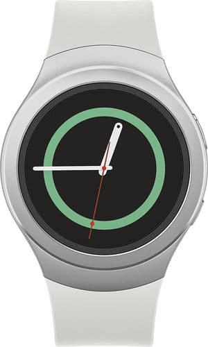 Samsung Geek Squad Certified Refurbished Gear S2 Smartwatch 42mm White Elastomer - $139.30 via Best Buy on eBay
