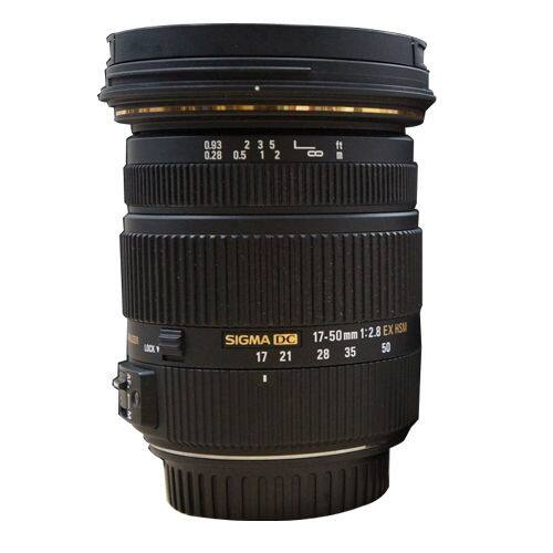 Sigma 17-50mm f/2.8 EX DC OS HSM Standard Zoom Lens (Canon or Nikon)  $254 + Free Shipping