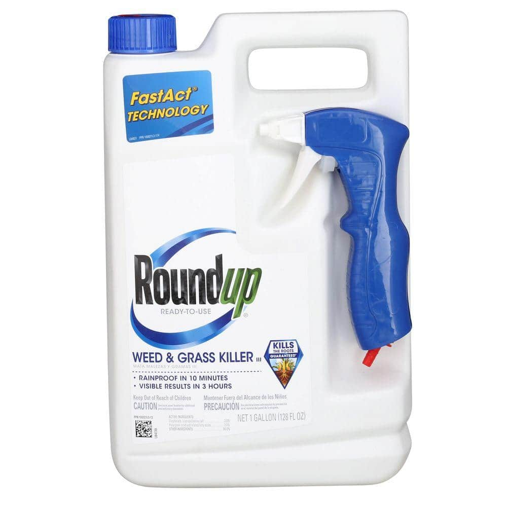 1-Gallon of ROUNDUP Ready-to-Use Plus Weed & Grass Killer $5 with in-store pick up at Home Depot (52% off Today Only)