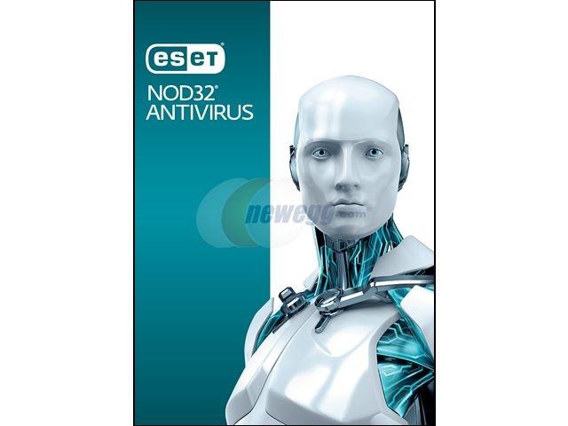 ESET NOD32 Antivirus - 1 PC / 2 Years (CD Sleeve) $9.99 w/code Newegg