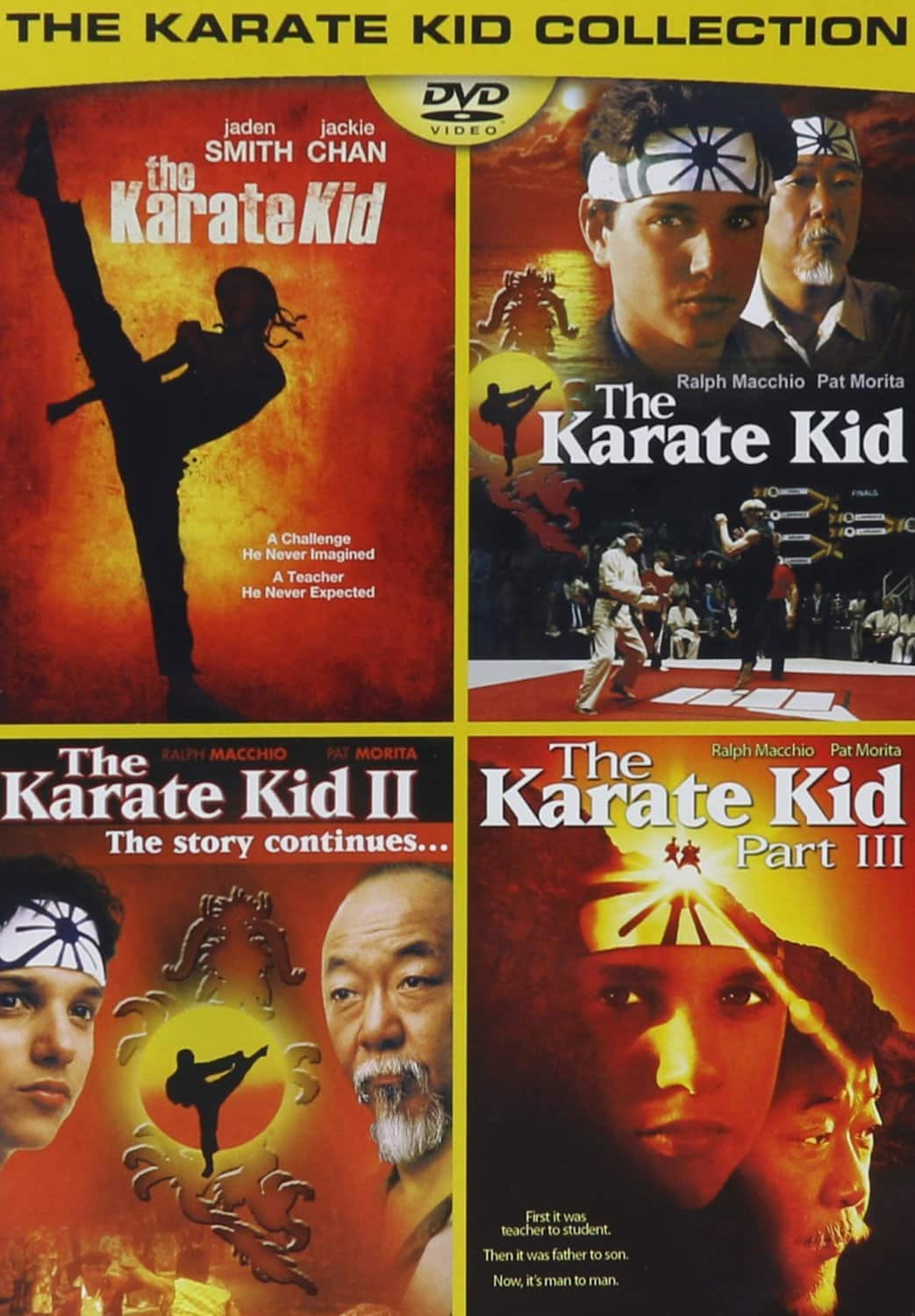 The Karate Kid Collection (DVD)  $4