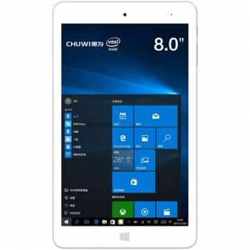 Chuwi HI8 Pro 32GB Intel Z8300 Quad Core 1.84GHz 8 Inch Dual OS Tablet $90.99 shipped AC Win 10 & Android 5.1