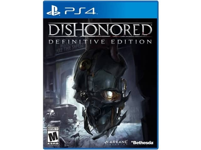 Dishonored: Definitive Edition (PS4 or Xbox One) $12.50AC 50% off select Games@Newegg