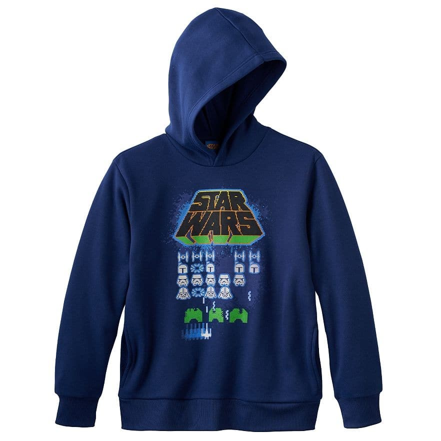 Star Wars Boys' Shirts 57 items & marketplace (57) Only (3) In-store: set your location. sort by As he zips up his favorite patterned hoodie, the thick fabric will deflect chilly breezes. An oversized hood protects his head, while cozy fleece lining adds extra insulation. Boys' button-down flannel shirts are a lighter option for a brisk.