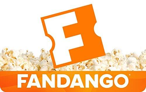 $50 Fandango Gift Card (Email Delivery)  $40