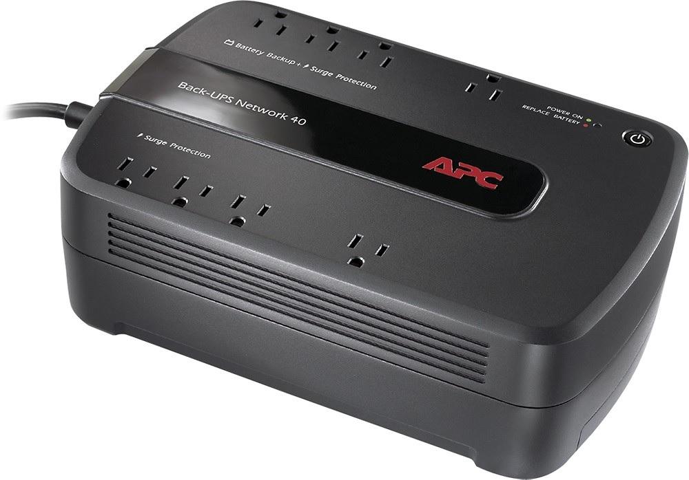 APC 450VA UPS Network 8-Outlet Surge Protector & Battery Backup $34.99 + Free Shipping