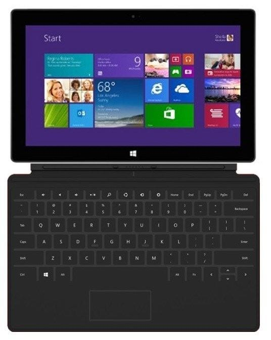 """Microsoft Surface Pro 2 10.6"""" i5 128GB W8.1P Wi-Fi Tablet w/ Touch Cover Keyboard (Refurbished) $300 + Free Shipping! (eBay Daily Deal)"""