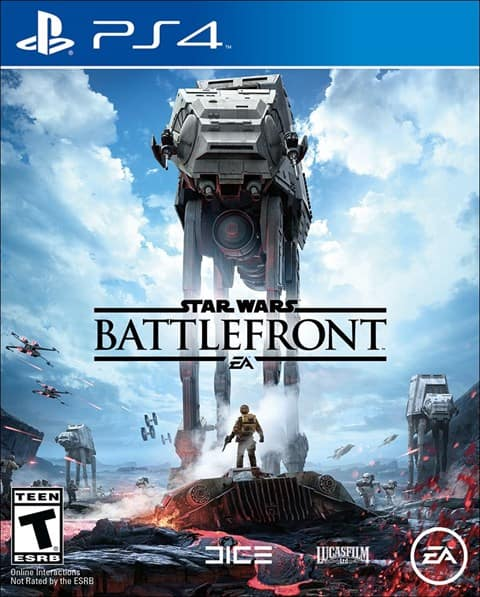 Star Wars Battlefront Gamefly Used $18.99 (ps4/xbox one)