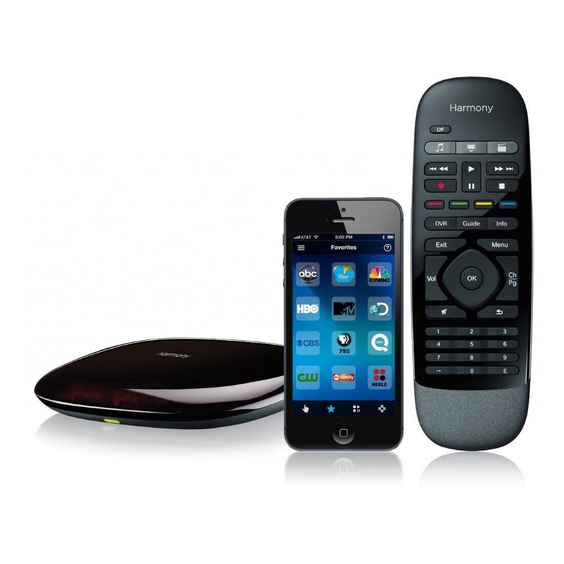 Logitech Harmony smart control w/ remote & hub $53.99 @ Amazon/Woot (certified refurbished)  Harmony ultimate home $150