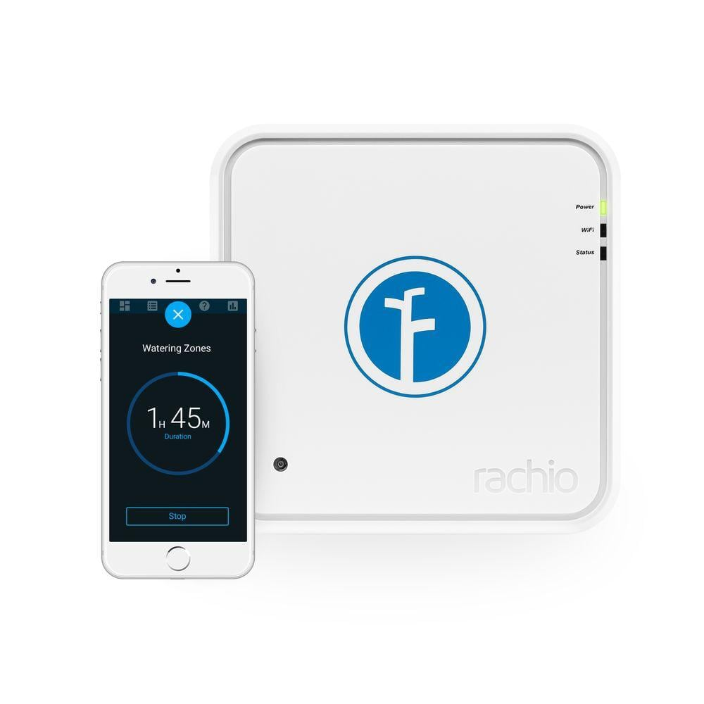 UP TO 45% OFF SELECT IRRIGATION KITS AND CONTROLLERS Rachio Iro 16 Zone Wi-Fi Intelligent Irrigation Controller $110 and more @home depot free shipping 4-30-2016 only