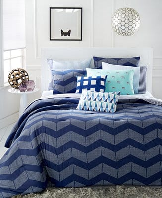 Martha Stewart: Fleece Blanket $13.50, 5-Pc Cotton Comforter Sets  from $45.00 & More + Free S&H on $25+