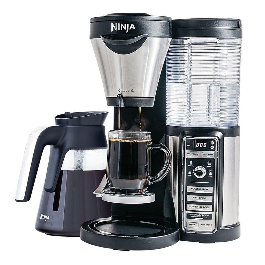 Ninja Coffee Bar w/ Glass Carafe + $20 Kohl's Cash  $112 & More + Free S&H
