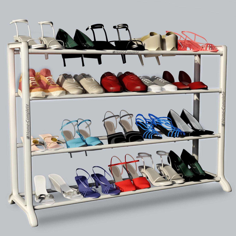 20-Pair Neatlizer Shoe Rack Storage Bench $9.99 + Free Shipping w/ Prime Amazon.com