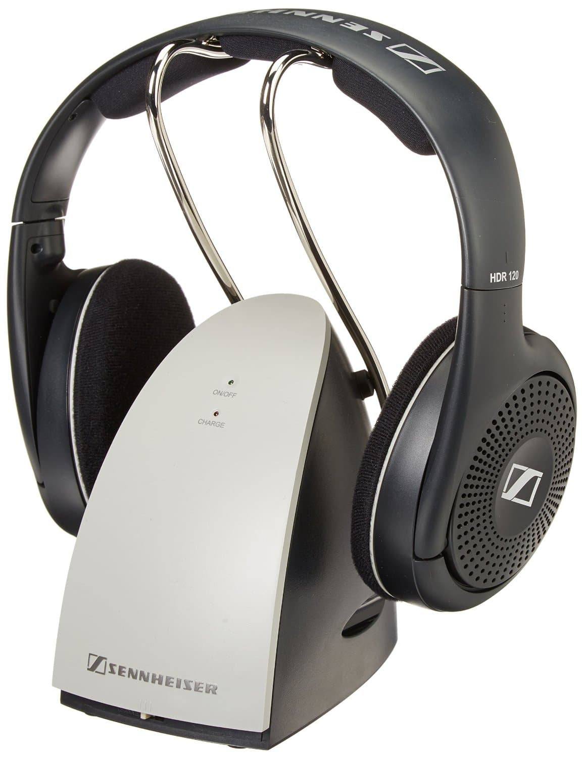 Sennheiser RS120 On-Ear Wireless RF Headphones (Used VG)  From $28.60