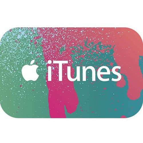 $50 iTunes Gift Card $40 (Email Delivery)