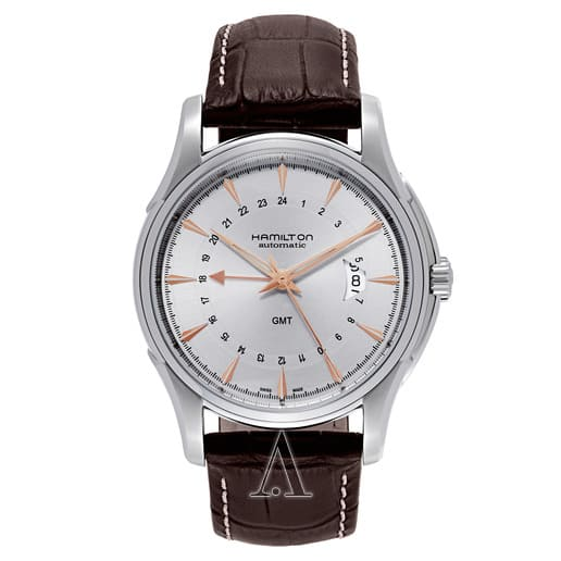 Hamilton Men's Jazzmaster Traveler Automatic GMT Watch $549 + free shipping