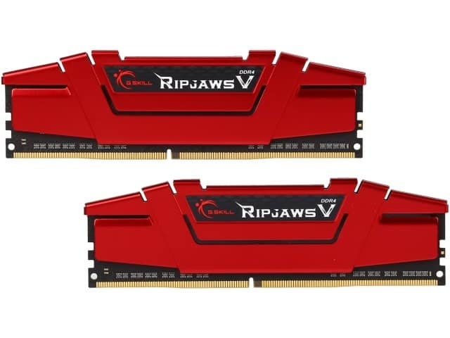 16GB (2x8GB) G.SKILL Ripjaws V Series DDR4 2400 Desktop Memory  $50 + Free Shipping