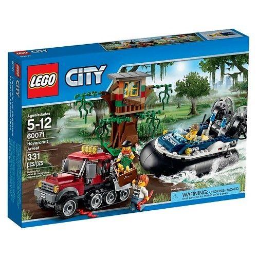 LEGO City Police Hovercraft Arrest Set  $28.35 + Free Shipping