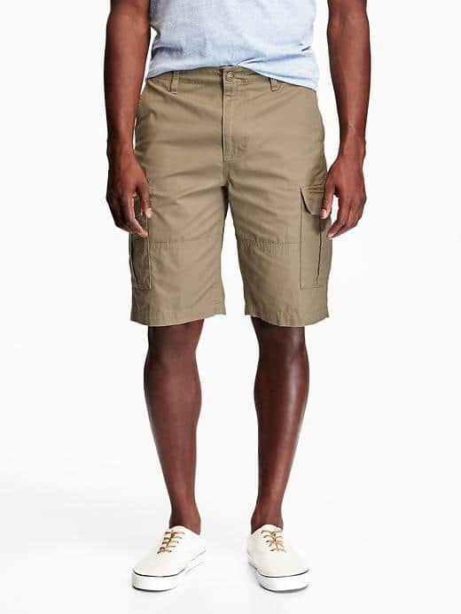 Old Navy Men's Long-Length Ripstop Cargo Shorts (Various Styles) $12 + Free Shipping