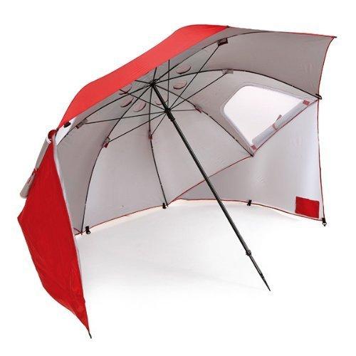 Sport-Brella Portable Sun & Weather Shelter Umbrella (Red)  $36