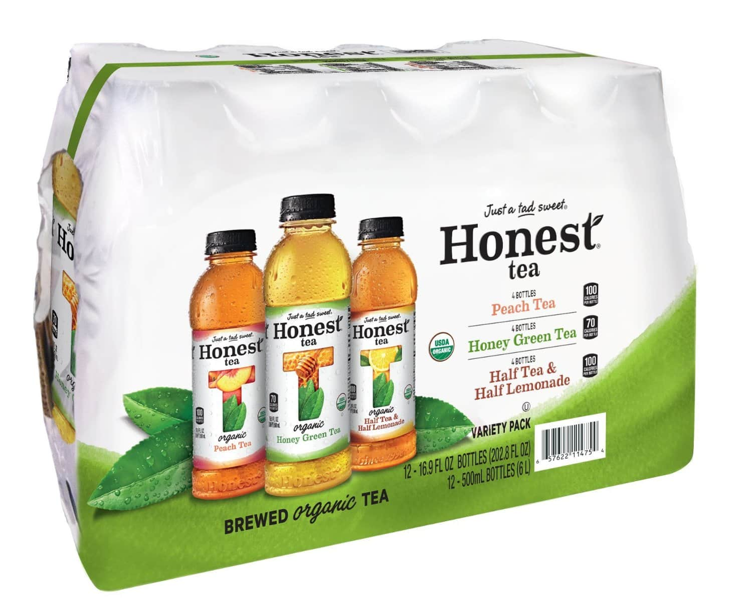 HONEST Tea Variety Pack (Pack of 12) for $9  w/ Amazon S&S