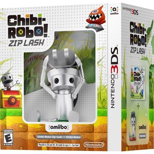 GCU Members: Chibi-Robo Zip Lash (Nintendo 3DS) + Chibi-Robo Amiibo Figure $15.99 + Free In-Store Pickup