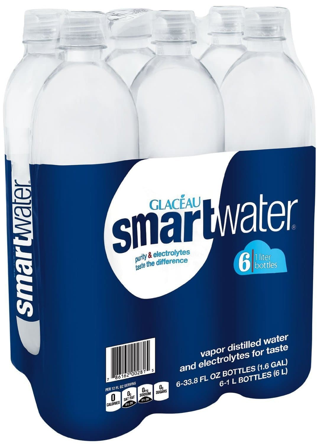 $5.40 or lower, smartwater, 6 ct, 1L Bottle Amazon subscribe & save s&s +25% off coupon