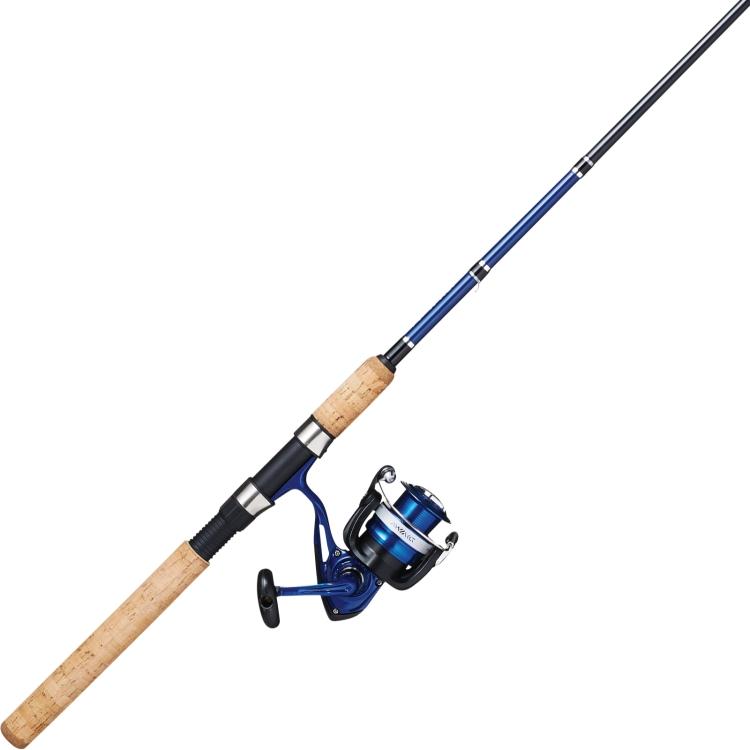 2-Count Daiwa Samurai X Spinning Fishing Rod & Reel Combo $30 F/S