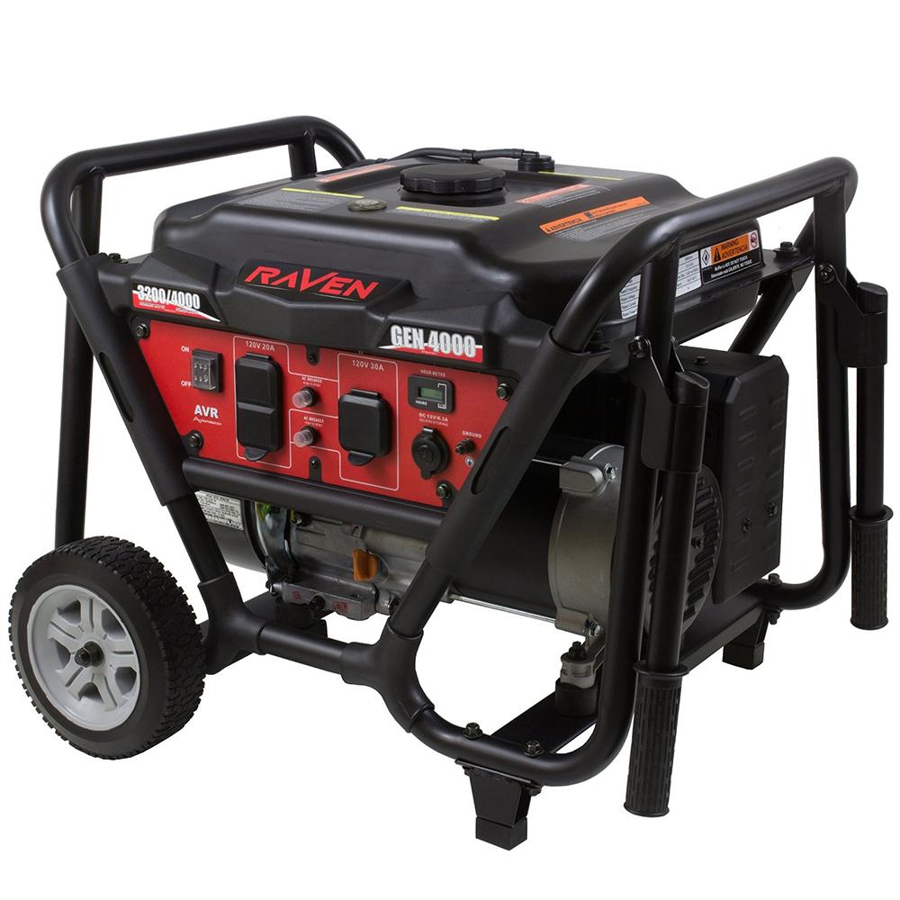 Raven 4000 Watt Generator shipped for $200