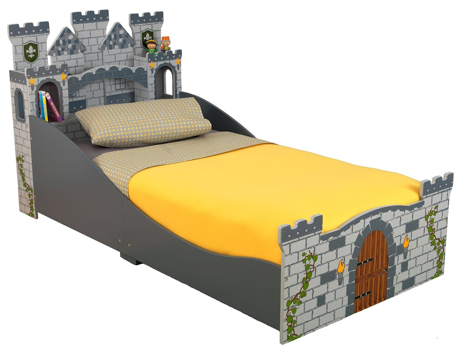 KidKraft Toddler Medieval Castle Bed $49.99 @ amazon + fs w/prime