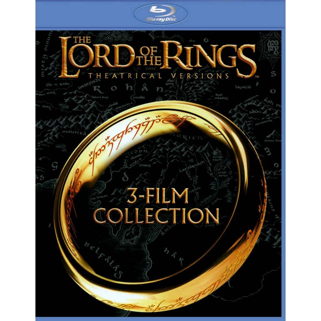 Lord of the Rings: Theatrical Trilogy (Blu-Ray)  $13 + Free Store Pickup