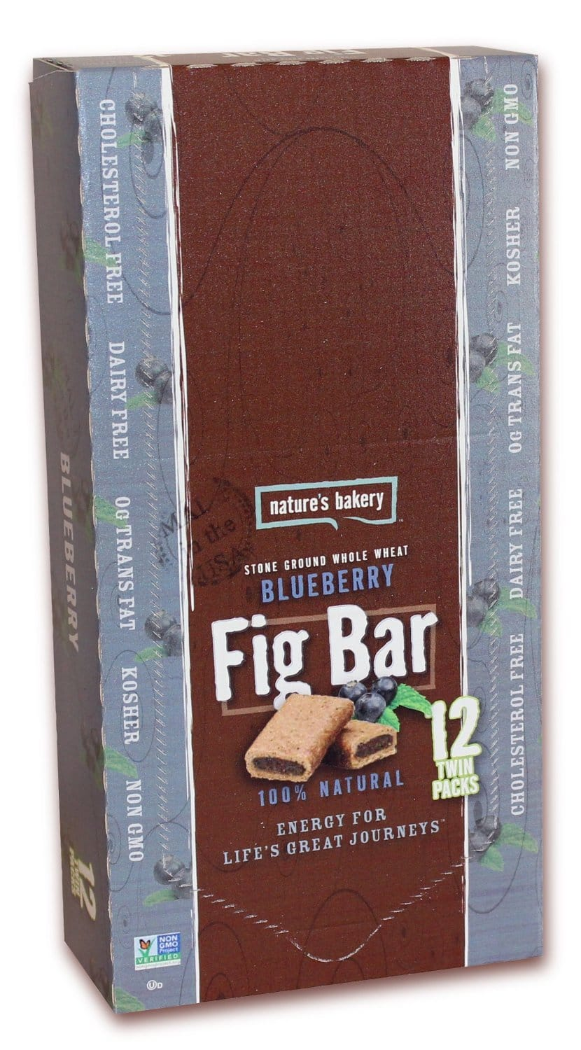 12-Count Twin Packs Nature's Bakery Fig Bars (Blueberry)  $5.55 & More