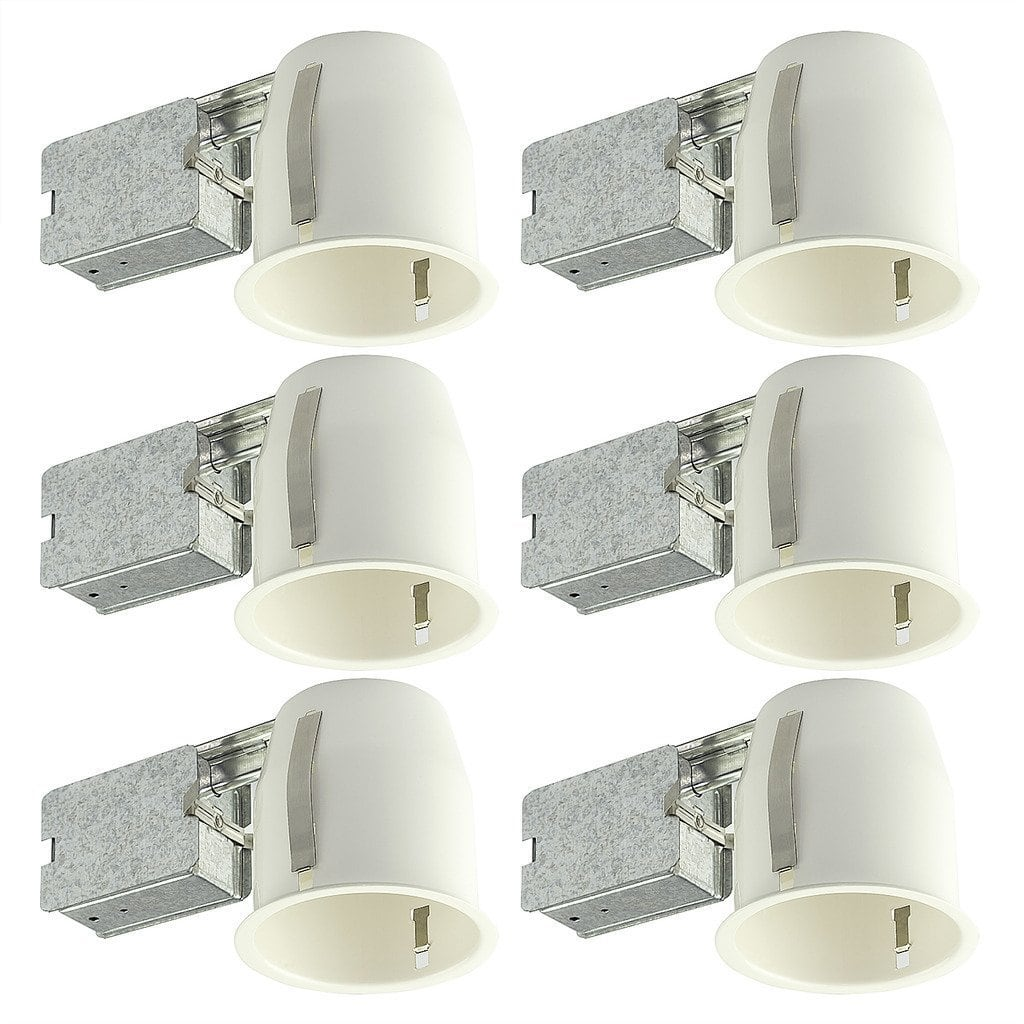 "6-Pack of 4"" Shine Hai LED Can Air Tight IC Housing for LED Recessed Lighting $45 + free shipping"