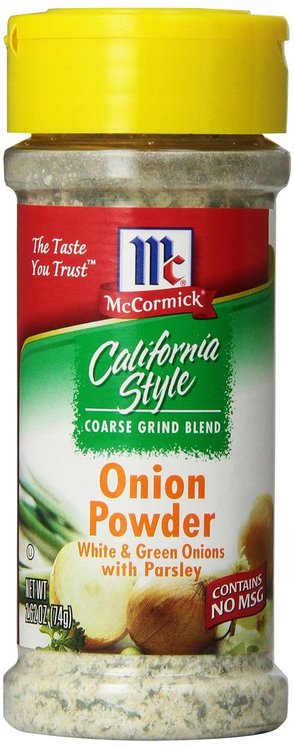 McCormick California Style Coarse Grind Blend Onion Powder $1.28 w/ 15% Subscribe and Save @ Amazon