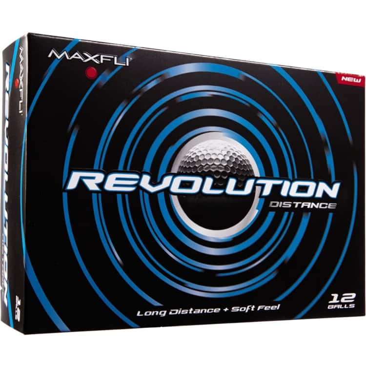 24-Count MaxFli Revolution (Distance or Control) Golf Balls $8 + Free Shipping