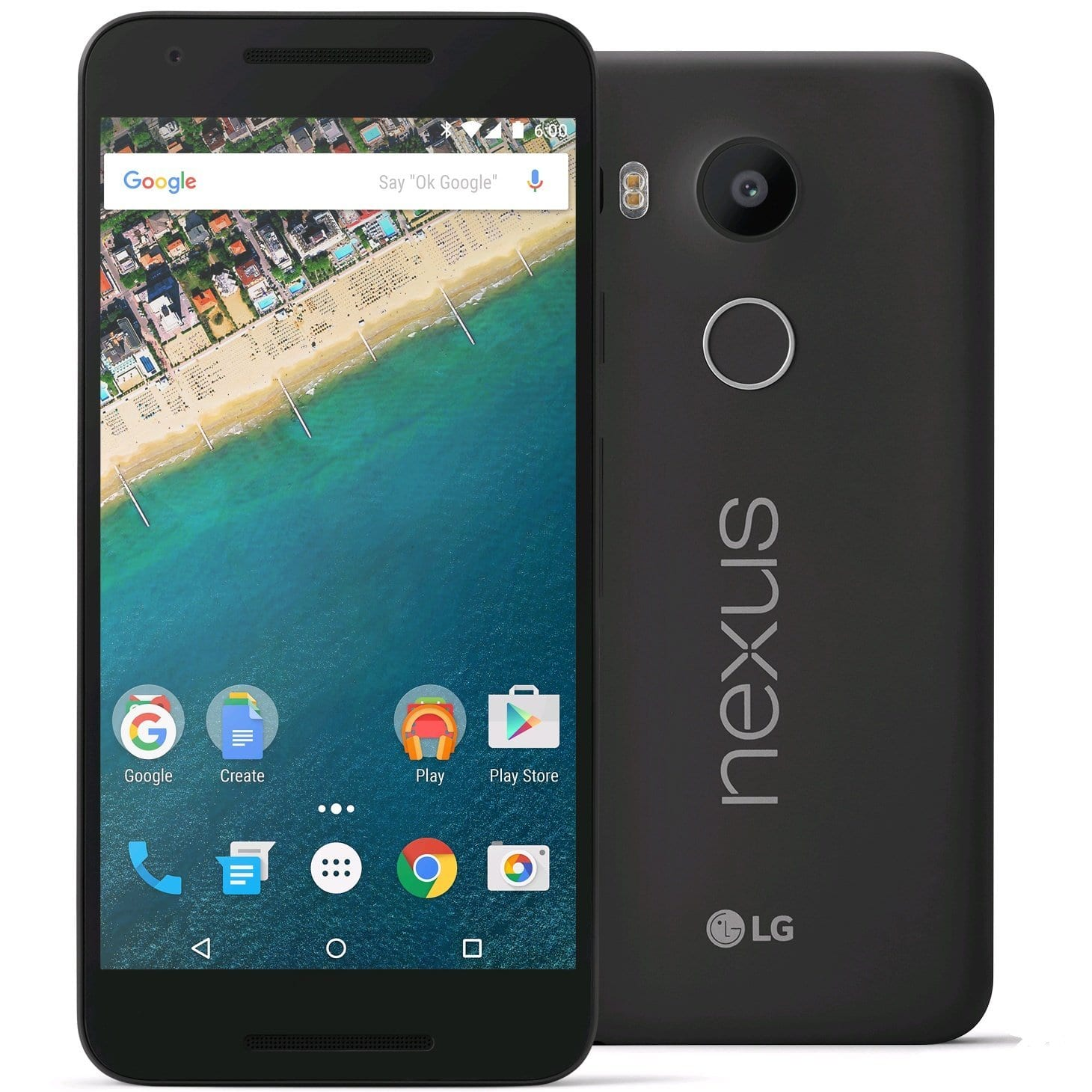 32GB LG Nexus 5X H790 4G LTE Android Unlocked Smartphone (black or white)  $260 + Free Shipping
