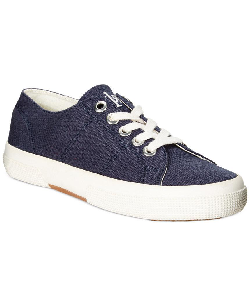 Lauren Ralph Lauren Women's Jolie Sneakers (navy) $14 shipped