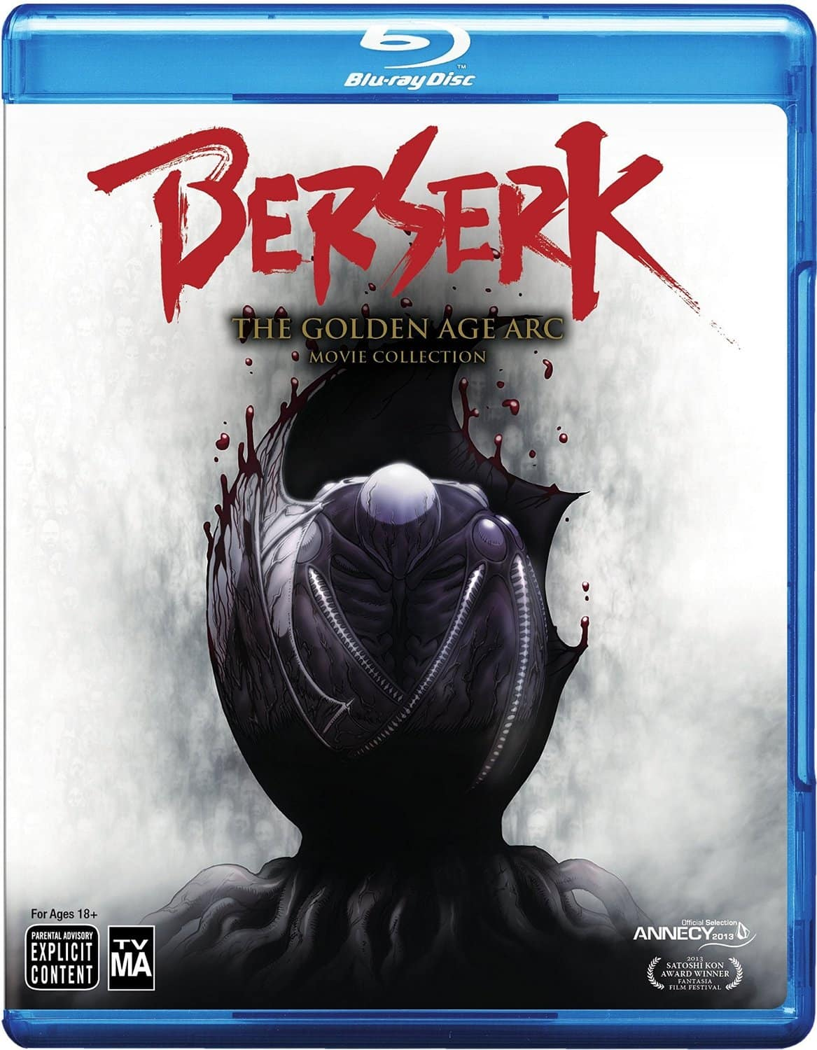 Berserk: The Golden Age Arc Movie Collection (Blu-ray)  $25 + Free Store Pickup