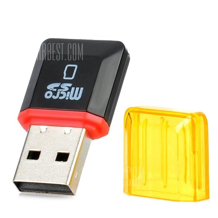 USB 2.0 MicroSD Memory Card Reader $0.10 + free shipping
