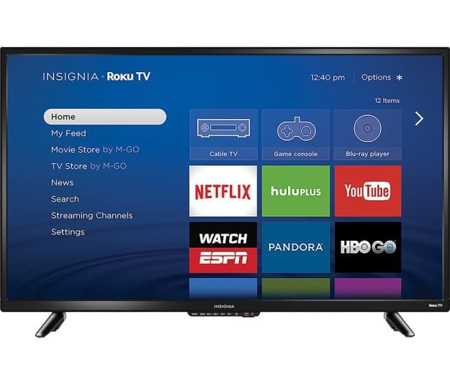 "40"" Insignia 1080p Roku Smart LED HDTV  $200 + Free Shipping"