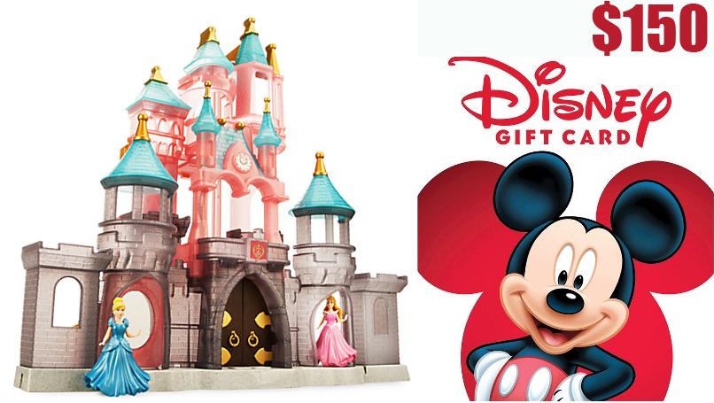 Disney Parks Princess Castle Play Set + $150 Disney Gift Card  $153
