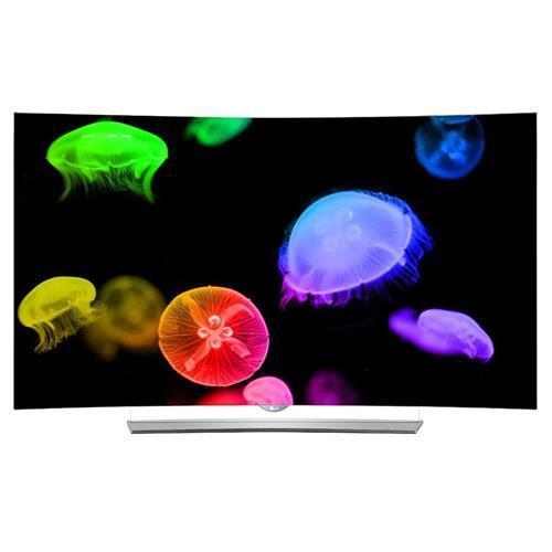 """65"""" LG 65EG9600 4K UHD Smart Curved 3D OLED HDTV $2485 + free shipping (authorized dealer via ebay)"""
