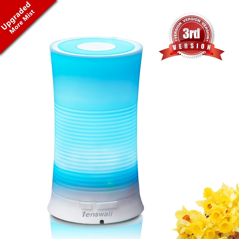 Tenswall Aroma Ultrasonic Essential Oil Diffuser Aromatherapy Humidifier - $9.99 FSSS @ Amazon