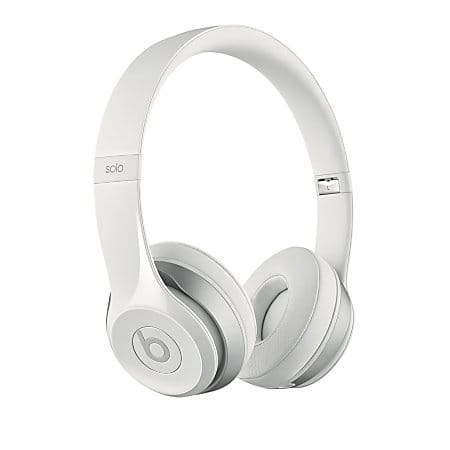 Beats Audio On-Ear Headphone, Solo 2, White for $49.95 via Office Depot free shipping
