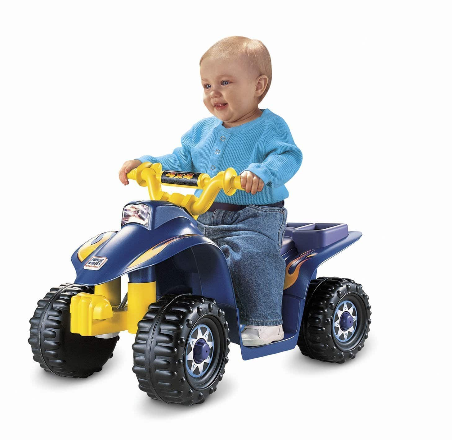 Fisher-Price Power Wheels Vehicles: Lil' Quad  $55 & More + Free S&H