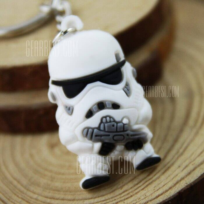 Star Wars Key Chain: Stormtrooper or Darth Vader  $0.40 + Free Shipping