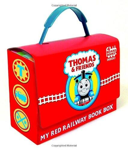 Thomas and Friends: My Red Railway Book Box  $7