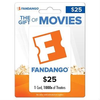 $25 Fandango Gift Card - $19.49 Free Shipping BJs Warehouse