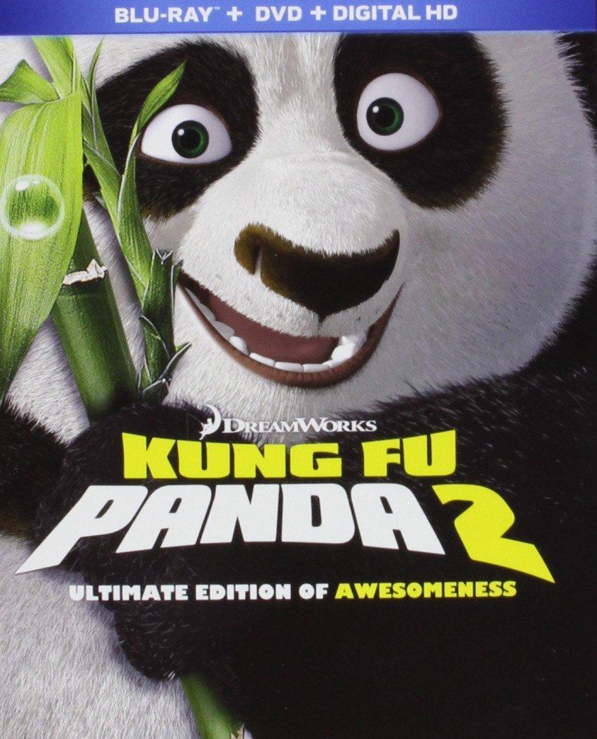Blu-ray + DVD + Digital HD: Kung Fu Panda 2 or Kung Fu Panda  $8 + Free Store Pickup