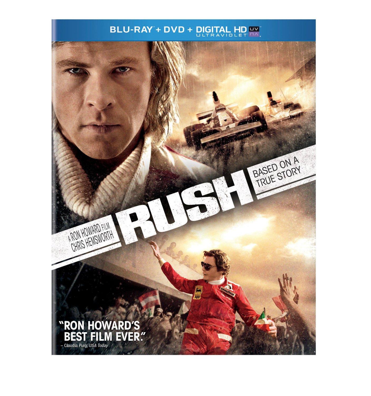 Rush (Blu-ray + DVD + Digital HD)  $5 + Free Store Pickup